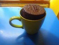 5 Minute Chocolate Mug Cake!. ∙ Recipe by ɐɯlɐ! on Cut Out + Keep