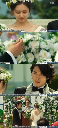 """Fated To Love You"" ep 04 Jang Hyuk and Jang Nara get married"