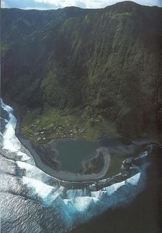 Caldera de santo cristo in sao jorge, açores, portugal!! Ive hiked it and the picture doesnt do it justice. It was amazing.