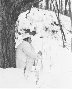 Bílý žebrák – cyklus | fotografie | 97 x 78 cm | 1993 | Obr.: 3/4 Snow, Film, People, Outdoor, Outdoors, Movies, Film Stock, Film Movie, Movie