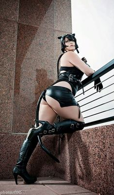 Cheeky Catwoman