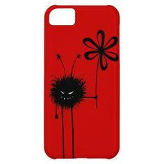 Customizable Red Evil Flower Bug iPhone 5C Case $42.95 #iphone5c #iphonecase