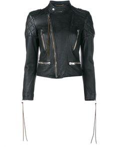 SAINT LAURENT Motocross Leather Jacket. #saintlaurent #cloth #
