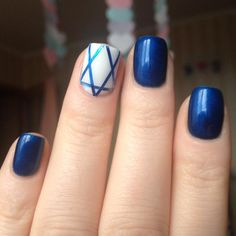 simple designs are easy to follow for even the novice and are a great way to get started in your own nail fashion designs. neutral nails. I actually like the shape; it makes her fingers look even longer and more elegant