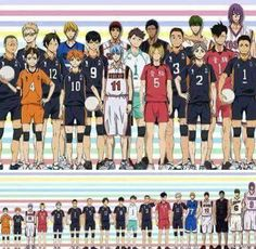 Kuroko no Basket | Haikyuu. AND MY MAN THE PURPLE GIANT WINS !!!!!