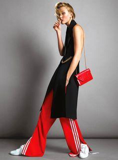 Karlie Kloss by Inez & Vinoodh for Vogue US June 2014