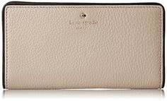 kate spade new york Cobble Hill Stacy Wallet, Clock Tower/Black, One Size >>> This is an Amazon Associate's Pin. To view further for this item, visit this Amazon Affiliate link.