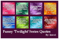 twilight quotes and sayings | Funny Twilight Series Quotes - The Twilight Saga