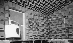 Bowers & Wilkins DM70 speaker in Anechoic Chamber