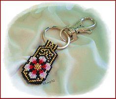 El diseño y el esquema es de Bead Patterns, Thread a bead