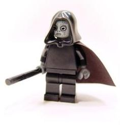 Lego minifigure of  Death Eater - Harry Potter Wiki