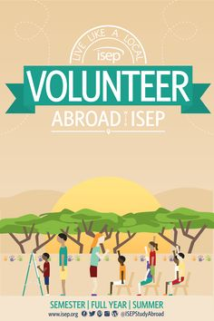 Live like a local: Volunteer abroad with ISEP, Check out our Global Engagement Programs and other service-learning opportunities in our 2015-2016 calendar (for U.S. Students)!