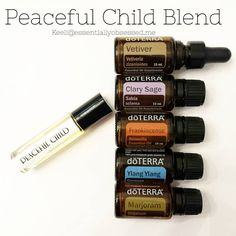 In a 10ml rollerball I combined 18 drops Vetiver,10 drops Ylang Ylang, 7 drops Frankincense ,5 drops Clary Sage and 3 drops Marjoram with 12 drops of Fractionated Coconut Oil.