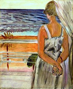 Beside the Window / Henri Matisse