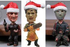 Freddy Krueger, Leatherface, and Jason Voorhees Horror Icon 3pk