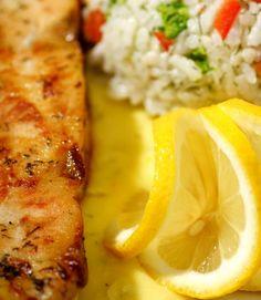 Turkey Cutlet Recipes:  Turkey Cutlets with Garlic Butter Sauce