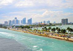 Catch the sea breeze in Miami. #honeymoon #miami #nopassportrequired