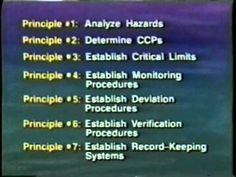 Haccp principles more haccp principles scoreboard haccp training 1