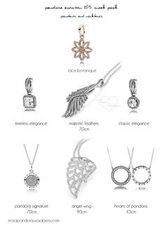 """pandora autumn fall 2015..... I have the round circle """"Signature"""" necklace and the """"Signature Pendant"""" to go with the matching ring, which I also have."""