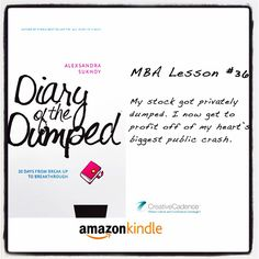 #DiaryOfTheDumped #MBALesson #36: My stock got privately dumped. I now get to profit off of my heart's biggest public crash.