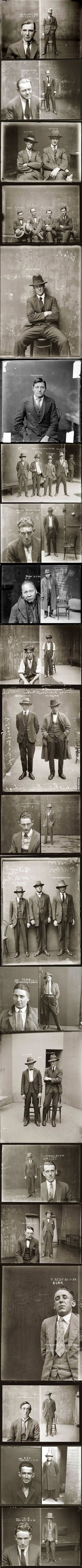 Let's take a minute to appreciate how awesome police mugshots were in the 1920s.