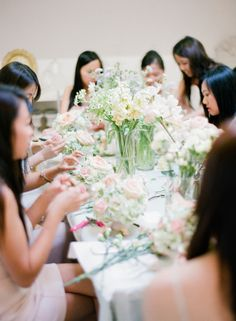 Flower Arranging Class: http://www.stylemepretty.com/2015/07/26/14-totally-fun-alternative-bachelorette-parties/