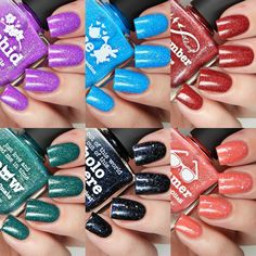 Picture Polish Alice, Holo Sphere, Meow, Orchid, Remember & Summer…