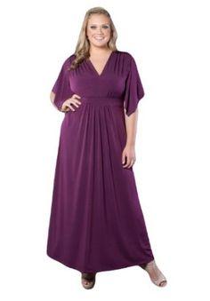 1698bc182a5  60Amazon.com  Sealed With A Kiss Designs Plus Size Jillian Maxi Dress   Clothing