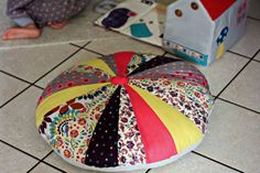 grand coussin patchwork