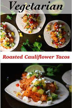 Crispy Roasted Cauliflower Taco Recipe (Vegetarian) - Endurance Zone