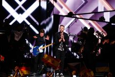 "Justin Timberlake Photos Photos - Justin Timberlake performs his new single ""Can't Stop The Feeling"" at the Ericsson Globe on May 14, 2016 in Stockholm, Sweden. - Eurovision Song Contest 2016 - Final"