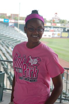 Pink in the Park Breast Cancer Awareness shirt