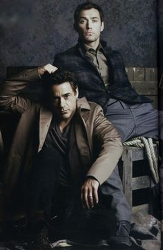 Robert Downey Jr. & Jude Law