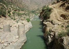 The Sirvan river in kordistan in iran! <3 must go and see it!!