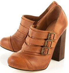 graduate buckle boot - top shop