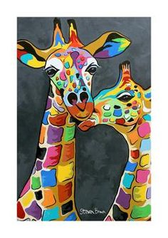 Mini McCoo Collection - Francie & Josie McZoo A3 Print or Framed - Steven Brown Art -