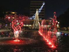 plaza de osorno en navidad