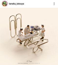 Miniature Calendar, Tiny World, Miniatures, Mockup, Minis