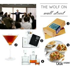 2014 Golden Globes Inspiration: The Wolf on Wall Street #homedecor