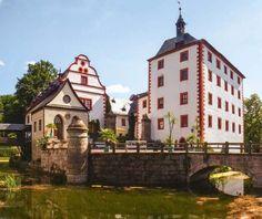 In Schloss Kochberg verbleef Charlotte von Stein vaak; ook Goethe kwam hier graag