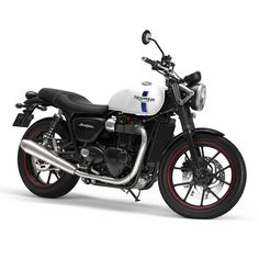 New colour scheme for the 2018 Triumph Street Twin - Crystal White