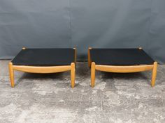 A Pair of Vintage German Oak and Slate Coffee Tables by Straub Slate Coffee Table, Coffee Tables, Retro Furniture, Antique Furniture, Mid Century Furniture, 1960s, Ottoman, German, Living Room