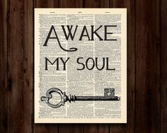 Awake My SoulMumford & Sons song lyrics 8x10 by OhHappinessCards Cool Words, Wise Words, Songs For Sons, Awake My Soul, Meaningful Pictures, Set Me Free, Magic Words, Words Worth, Music Lyrics