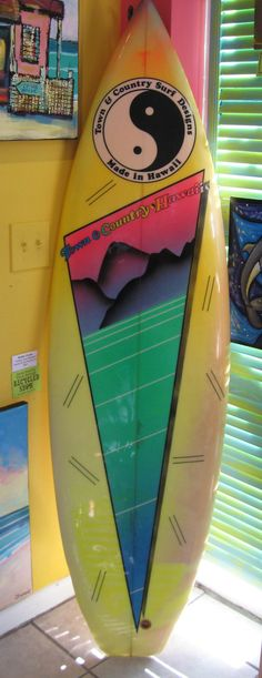 Used Town and Country Surfboards