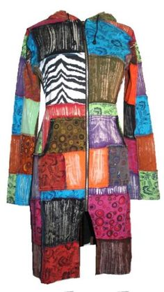 R-09 Agan Traders Patch Funky Light Weight Cotton Boho Jacket. - Listing price: $89.00 Now: $59.99