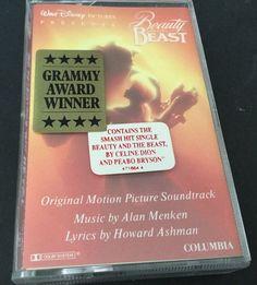 Beauty & The Beast Original Motion Picture Soundtrack Cassette Tape Disney 1991