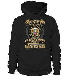 Security System Engineer  #tshirts #tshirtsfashion #tshirt #tshirtdesign #tshirtprinting