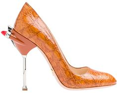 Prada high heels inspired by 1950's cars...