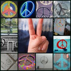 Peace - this symbol has meaning it is not meant to be a motif!