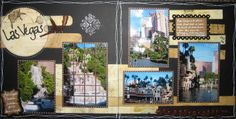 "las vegas scrapbook page ideas | And these are some awesome tags that I created for ""trades"" with other ..."